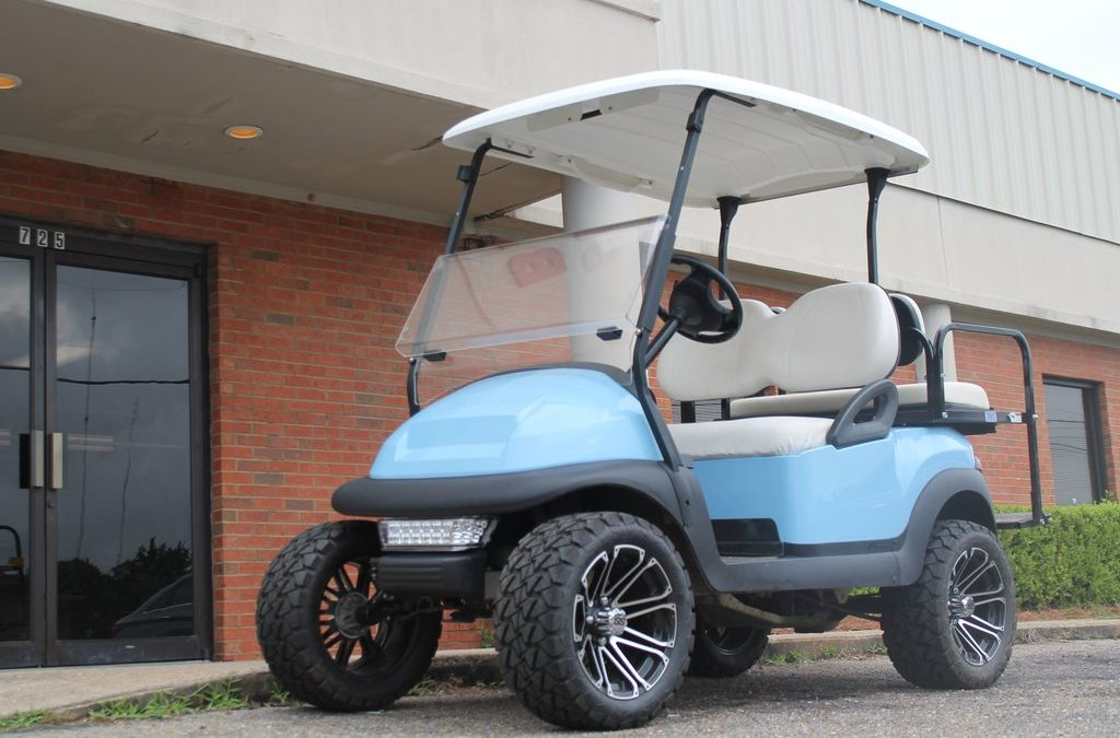 2014 SKY BLUE CLUB CAR